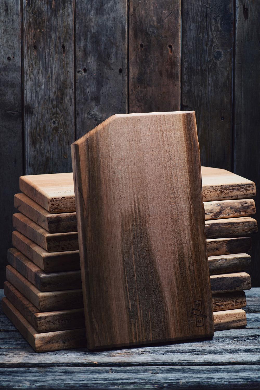 Planche d couper en rable massif le coup de gr ce - Planche a decouper bois massif ...